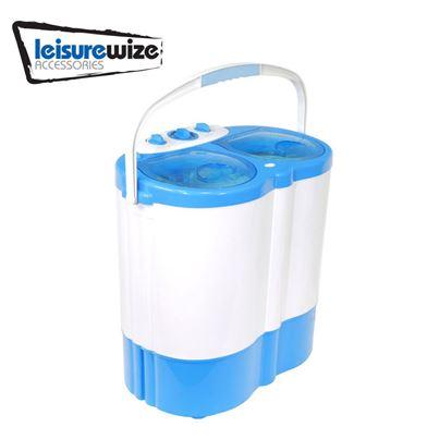 Leisurewize Leisurewize Portawash 230V Twin Tub Caravan Washing Machine