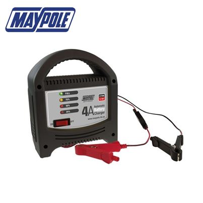 Maypole Maypole 4A LED Battery Charger - New for 2018