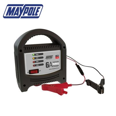 Maypole Maypole 6A LED Battery Charger - New for 2018