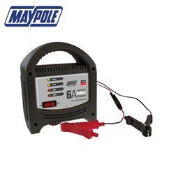Maypole 6 Amp LED Battery Charger