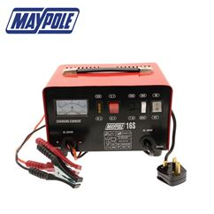 Maypole 12A Metal Heavy Duty Battery Charger
