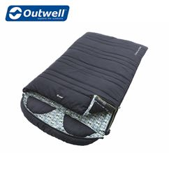 Outwell Camper Lux Double Sleeping Bag - 2021 Model