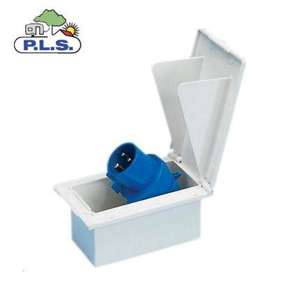 Pennine Rectangular Inlet (Flush Fitted) White
