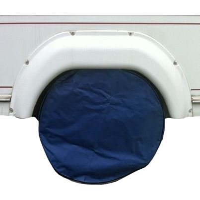 Grove Heavy Duty Single Caravan Wheel Cover