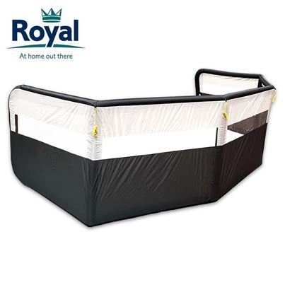 Royal Royal Premium 5 Panel Air Windbreak With FREE Pump