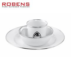 Robens Tongass Single Enamel Set