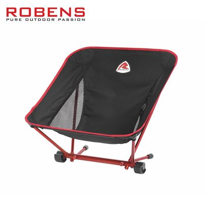 Robens Robens Hiker Lightweight Chair - Glowing Red