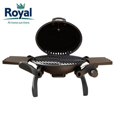 Royal Royal Portable Table Top BBQ With Cast Iron Grill