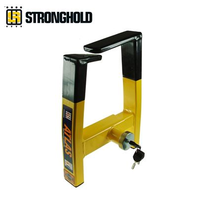 Stronghold Stronghold Insurance Approved Atlas Caravan Wheel Clamp