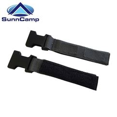 SunnCamp Velcro Tie Down Kit Buckles for Swift Pole Awnings