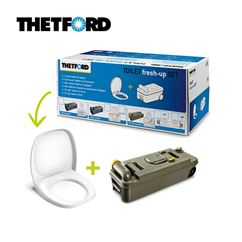 Thetford Toilet C234 Toilet Fresh Up Set - C2, C3, C4