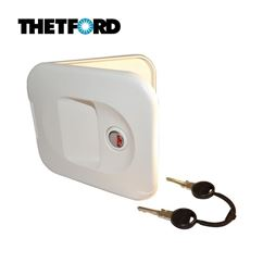 Thetford Toilet Water Filler Door White