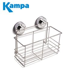 Kampa Chrome Suction Storage Basket