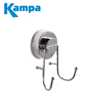 Kampa Kampa Chrome Suction Double Hook