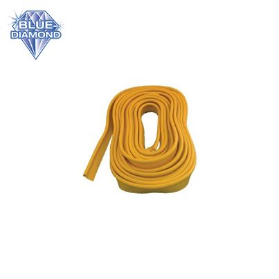 Blue Diamond Awning Rail Protector Strip 12m - Yellow