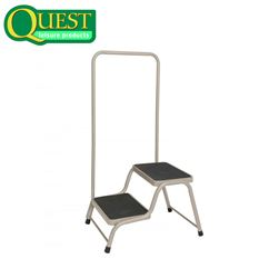 Quest Accessible Double Caravan Step with Handrail