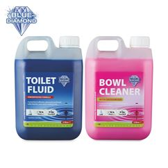 Blue Diamond Chemical Toilet Fluid Twin Pack
