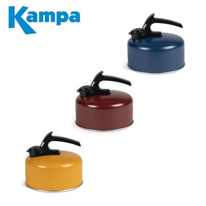 Kampa Kampa Billy 2 Litre Whistling Kettle - 2021 Colours