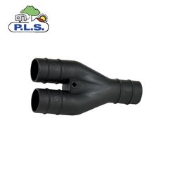 PLS Black 28.5mm Y Connector Caravan Waste Hose