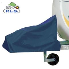 PLS Extra Large Blue Caravan Hitch Cover