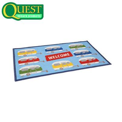 Quest Washable Caravan Welcome Entrance Mat