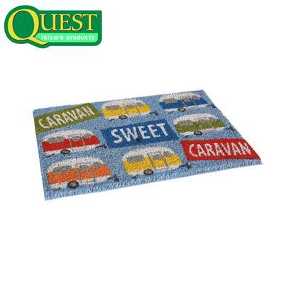 Quest Caravan Sweet Caravan Coir Entrance Mat