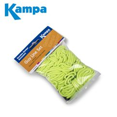 Kampa 6 Metre Fluorescent Guy Line Set