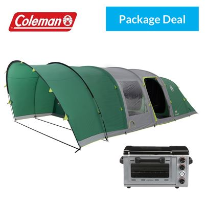 Coleman Coleman FastPitch Air Valdes 6XL 2018 Tent With Free Campingaz Oven - Package Deal