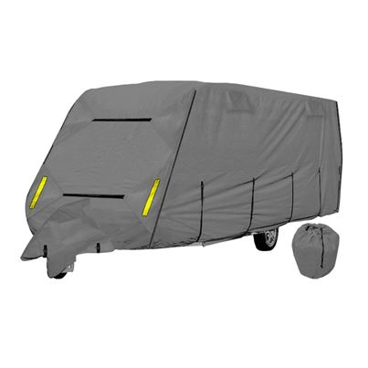 Crusader Crusader CoverPro 4-Ply Grey Caravan Cover With Free Hitch Cover