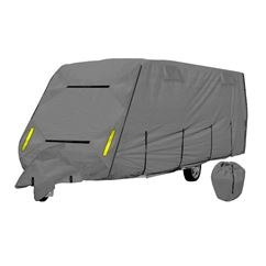Crusader CoverPro 4-Ply Grey Caravan Cover With Free Hitch Cover