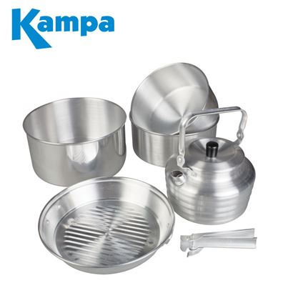 Kampa Dometic Kampa Gobble Aluminium Cook Set