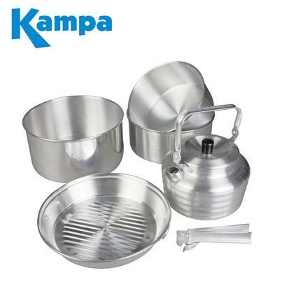 Kampa Kampa Gobble Aluminium Cook Set