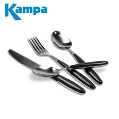 Kampa Deluxe 16 Piece Cutlery Set