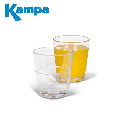 Kampa Dometic Kampa Pack Of 4 Stackable Tumbler Polycarbonate Glasses