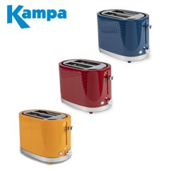 Kampa Deco 2 Slice Electric Toaster - Range Of Colours - 2021 Model