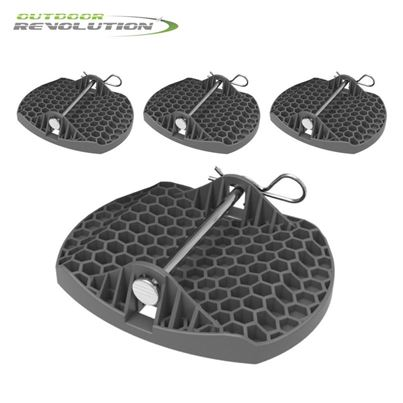 Outdoor Revolution Outdoor Revolution Deluxe Caravan Jack Pads (Set of 4)