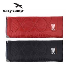 Easy Camp Chakra Sleeping Bag - Available in Red or Black