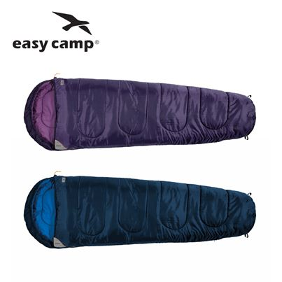 Easy Camp Easy Camp Cosmos Sleeping Bag - Available in Blue or Purple