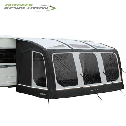 Outdoor Revolution Outdoor Revolution Eclipse Pro 420 Air Caravan Awning With FREE Carpet - 2021 Model