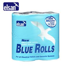 Elsan Blue Toilet Roll - Pack of 4