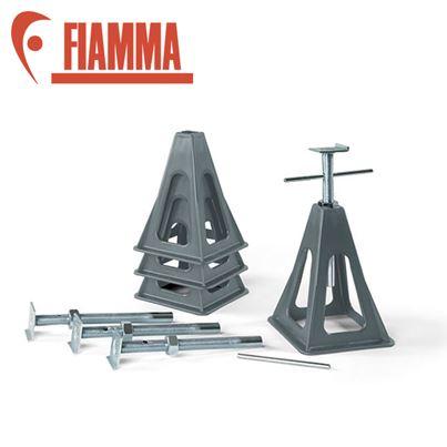 Fiamma Fiamma Grey Plastic Jack Stand Set