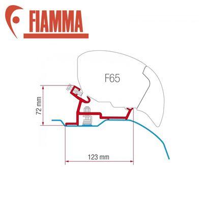 Fiamma Fiamma F65 Awning Adapter Kit - Fiat Ducato - Citroen Jumper - Peugeot Boxer > 2006