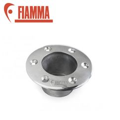 Fiamma Recessed Base Connection - Aluminium