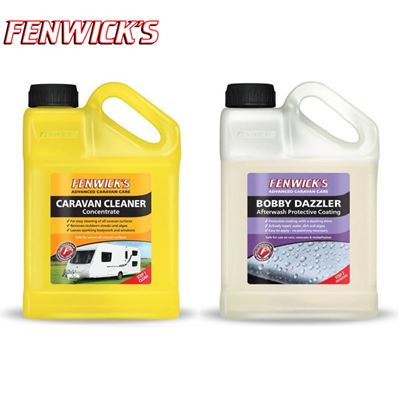 Fenwicks Fenwicks Twin Pack, Caravan Cleaner 1L & Bobby Dazzler 1L