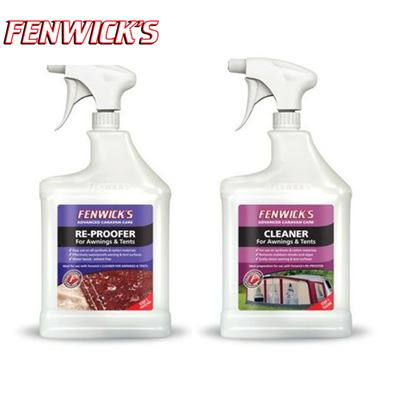 Fenwicks Fenwicks Twin Pack, Awning Cleaner 1L & Reproofer 1L