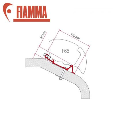 Fiamma Fiamma F65 Awning Adapter Kit - LMC