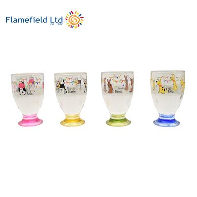 Flamefield Charlie and Friends Children's Acrylic Tumblers - Pack of 4