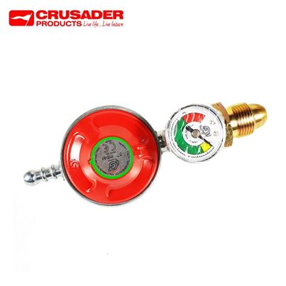 Crusader Propane Regulator With Manometer