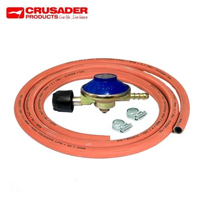 Crusader Camping Gas Butane Regulator Gas Kit