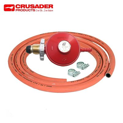 Crusader Propane Regulator Gas Kit With Hand Wheel